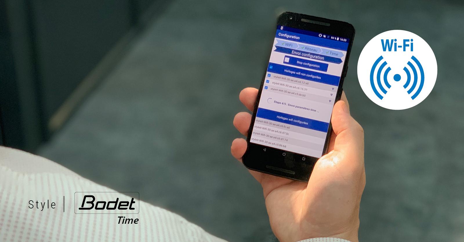 Horloges digitales NTP Wi-Fi Style