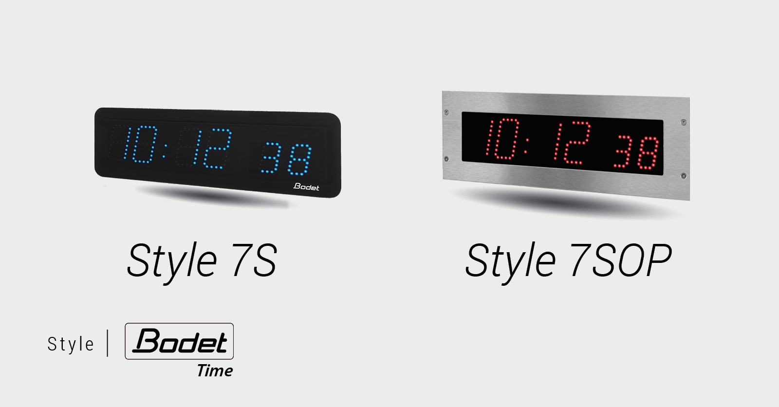 Horloges digitales Style 7S et Style 7SOP