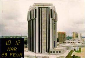 Banque Abidjan Style Date Bodet