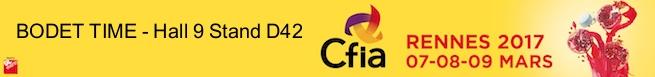 CFIA logo horlogerie industrielle agroalimentaire