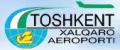 International airport Tashkent in Uzbekistan