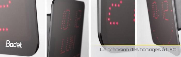 banniere horloge numerique led gamme style