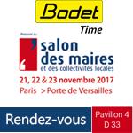 bodet time salon des maires 2017