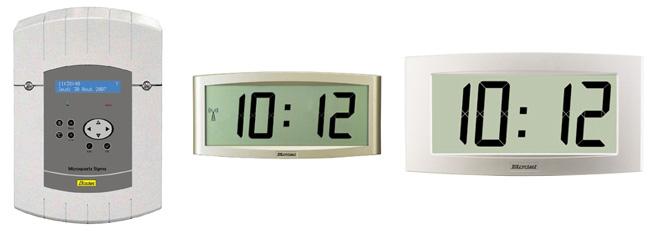 horloge mere sigma LCD Cristalys