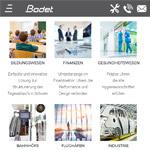 Neue Responsive web design bodet time