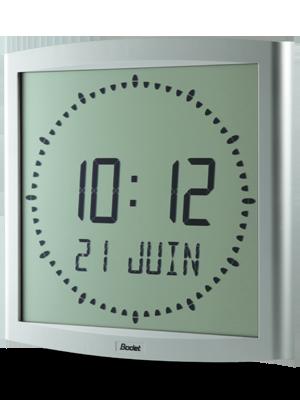 LCD-uhren Cristalys clock Ellipse