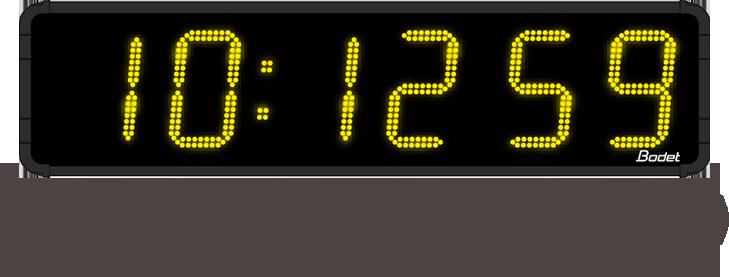 digitaluhr-HMS-LED-Uhrzeit