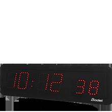 LED-Uhr Style 7S rot Min.