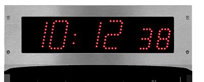 Eingebaute LED-Uhr Style 7SOP