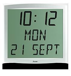 LCD-Uhr Cristalys Date