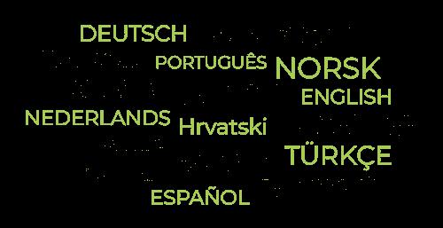 Cristalys Date bietet mehrere Sprachen