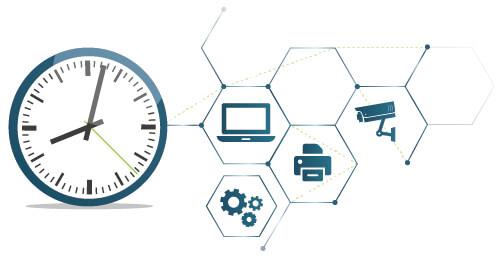 Der Netsilon 7: präzise Zeitinformationen