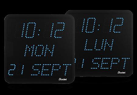 Funktionsliste der LED-Uhren Style 7 Date