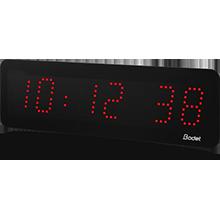 LED-Uhr Style 5 rot bodet