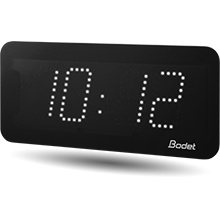 LED-Uhr Style 7 weiß Bodet