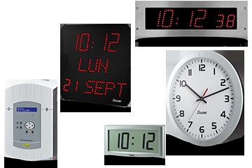 LED-Uhr STYLE und Digitaluhr Style 5 S Hôpital