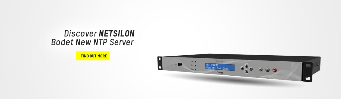 Banner-Time-Server-Netsilon