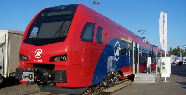 Stadler FLIRT Železnice Srbije 413 004 Innotrans 2014
