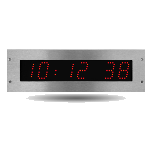digital clock bodet healthcare hospital