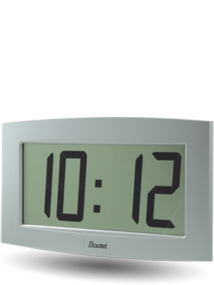LCD clock Cristalys 14