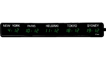 LED-timezone-clock-5-cities