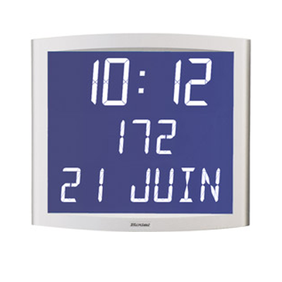 Multifunction clock opalys date