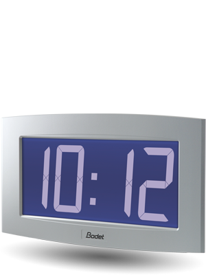 LCD-Uhr Opalys-14