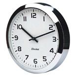 extra slim round analogue clock