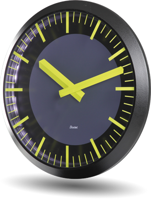 Analog clock Profil TGV 930