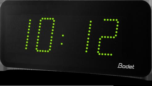 Bodet Time Led Digital Clock Range Style 10