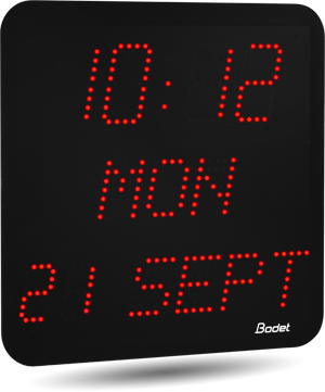 indoor led clock style 7D