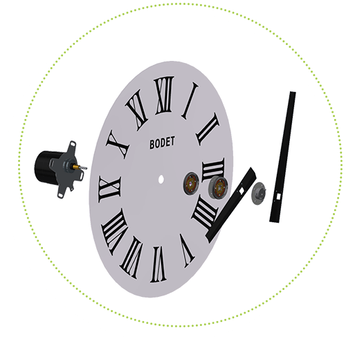 Which type of movement for my dial?