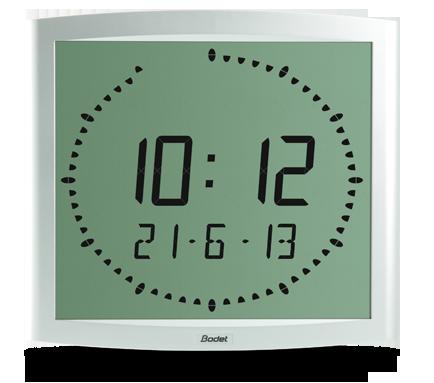 Часы с LCD-подсветкой