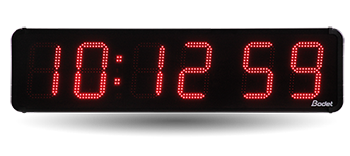 HMS outdoor LED clock