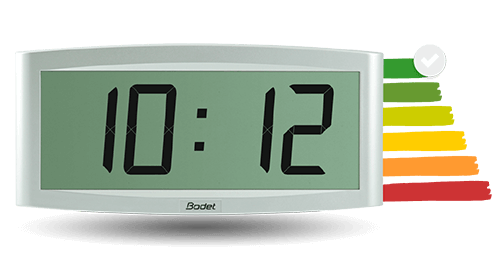 The Cristalys 7 clock, an environmentally friendly model