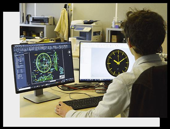 Profil TGV 970, the timeless SNCF clock