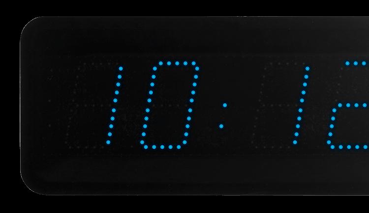 Style 10 led clock