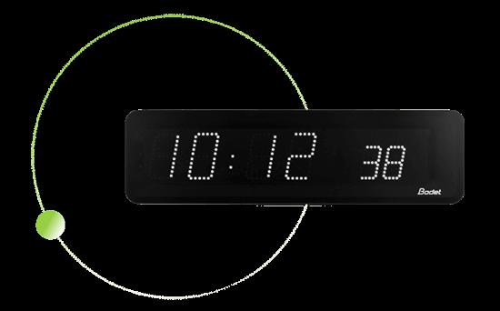 Style 10s synchronisation led clock