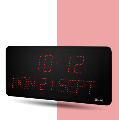 Style-10-Date LED-clock-