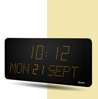 Style-10-Date LED-clock