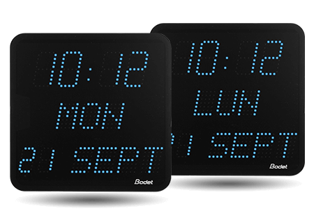 List of style 7 date led clock features