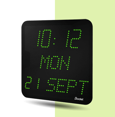 Style-7-Date LED-clock