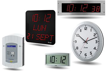 STYLE LED clock and Style 5S Hospital digital clock