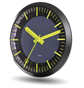 synchronised Profil TGV clocks