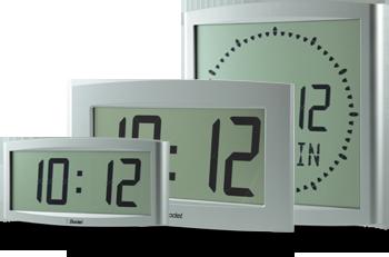 cristalys reloj LCD