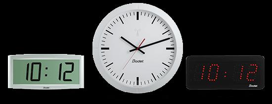 Gamas de relojes Bodet