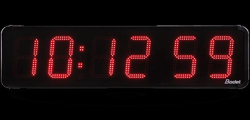 La modernidad del reloj HMS LED 25