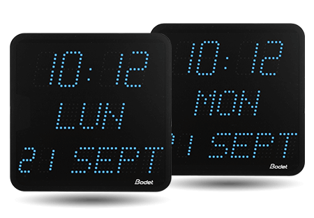 Lista de funciones de los relojes LED Style 7 Date
