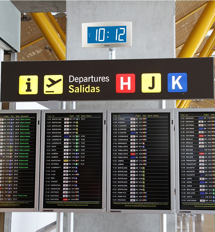 Conozca los casos de nuestros clientes en el sector de los aeropuertos