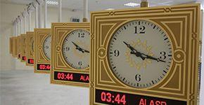 Relojes de La Meca